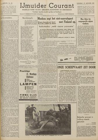 IJmuider Courant 1939-11-29