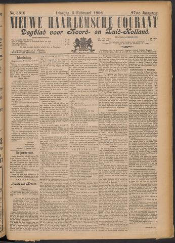 Nieuwe Haarlemsche Courant 1903-02-03