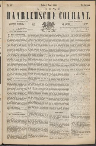 Nieuwe Haarlemsche Courant 1882-03-05