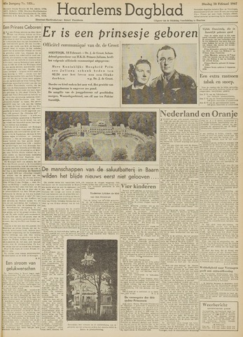 Haarlem's Dagblad 1947-02-18