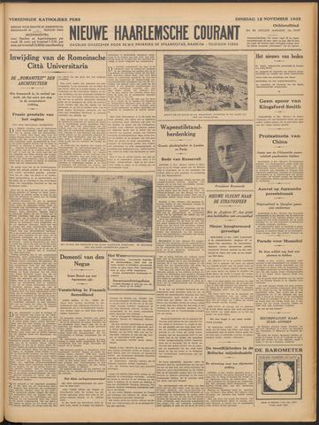 Nieuwe Haarlemsche Courant 1935-11-12