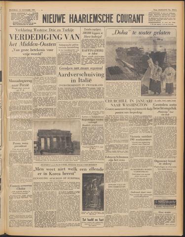 Nieuwe Haarlemsche Courant 1951-11-12