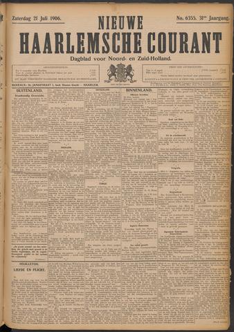 Nieuwe Haarlemsche Courant 1906-07-21