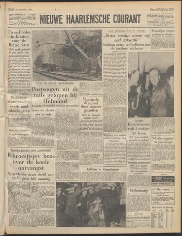 Nieuwe Haarlemsche Courant 1957-08-09