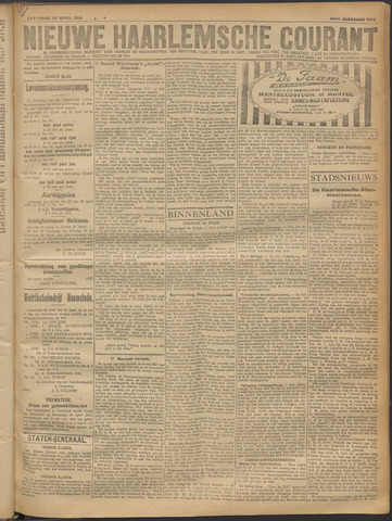 Nieuwe Haarlemsche Courant 1919-04-26