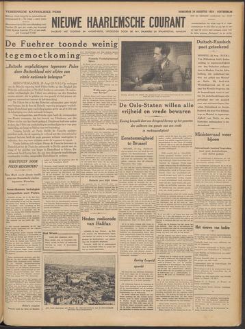 Nieuwe Haarlemsche Courant 1939-08-24