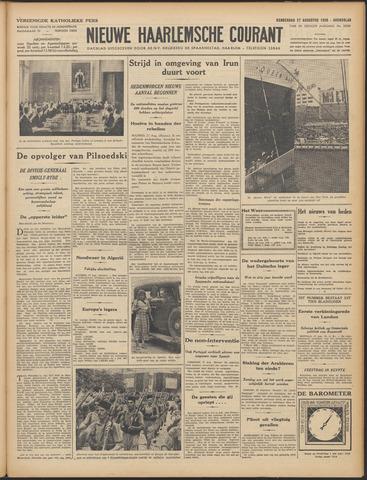 Nieuwe Haarlemsche Courant 1936-08-27