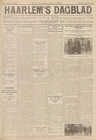 Haarlem's Dagblad 1926-02-16