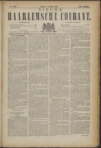 Nieuwe Haarlemsche Courant 1891-02-01