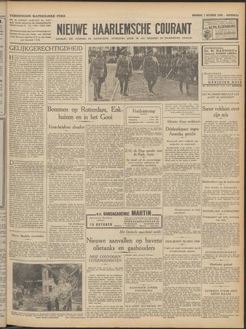 Nieuwe Haarlemsche Courant 1940-10-07