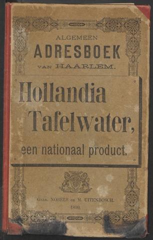 Adresboeken Haarlem 1898