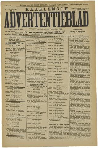 Haarlemsch Advertentieblad 1900-12-22