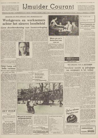 IJmuider Courant 1959-09-11