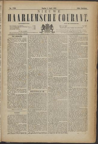Nieuwe Haarlemsche Courant 1891-04-05