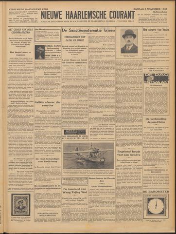 Nieuwe Haarlemsche Courant 1935-11-03