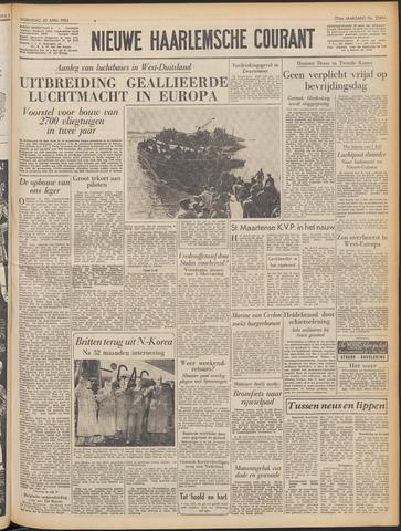 Nieuwe Haarlemsche Courant 1953-04-22