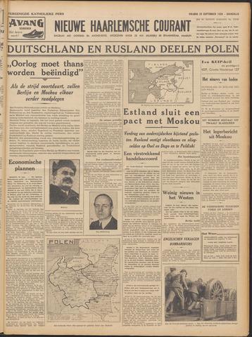 Nieuwe Haarlemsche Courant 1939-09-29