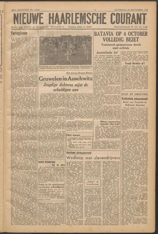 Nieuwe Haarlemsche Courant 1945-09-22
