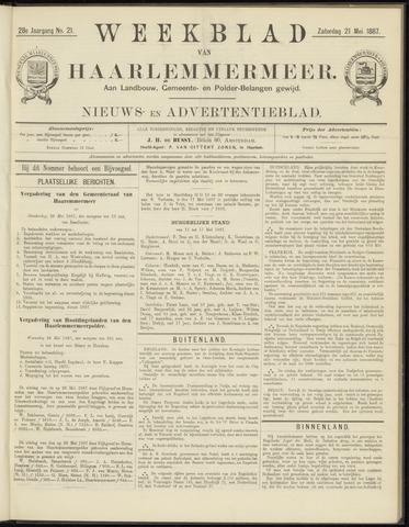 Weekblad van Haarlemmermeer 1887-05-21
