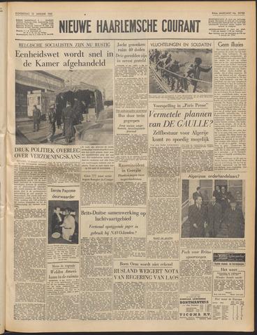 Nieuwe Haarlemsche Courant 1961-01-12