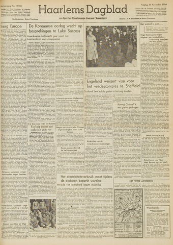 Haarlem's Dagblad 1950-11-10