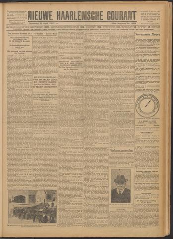 Nieuwe Haarlemsche Courant 1927-04-20