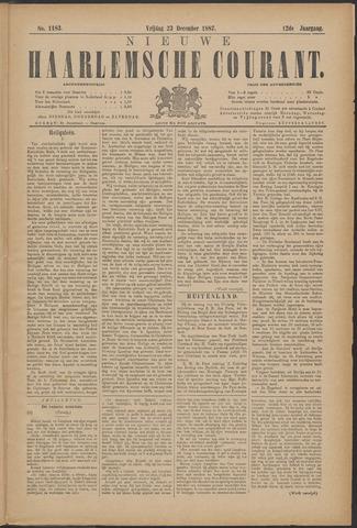 Nieuwe Haarlemsche Courant 1887-12-23