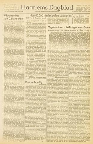 Haarlem's Dagblad 1945-08-07