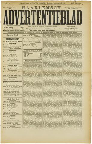 Haarlemsch Advertentieblad 1889-09-21