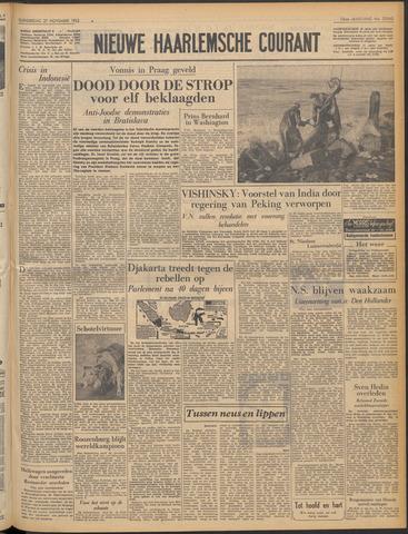 Nieuwe Haarlemsche Courant 1952-11-27
