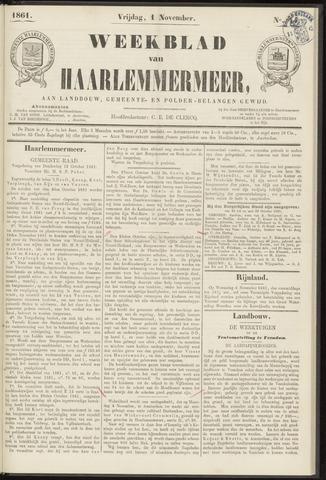 Weekblad van Haarlemmermeer 1861-11-01