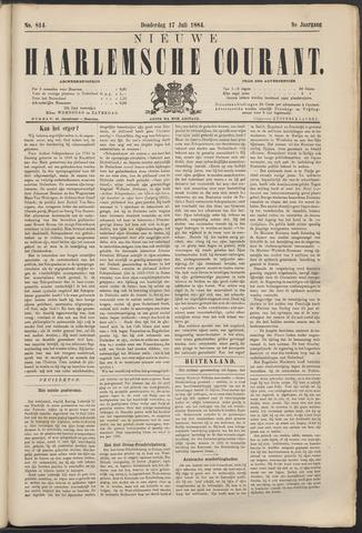 Nieuwe Haarlemsche Courant 1884-07-17