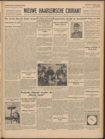 Nieuwe Haarlemsche Courant 1934-05-04