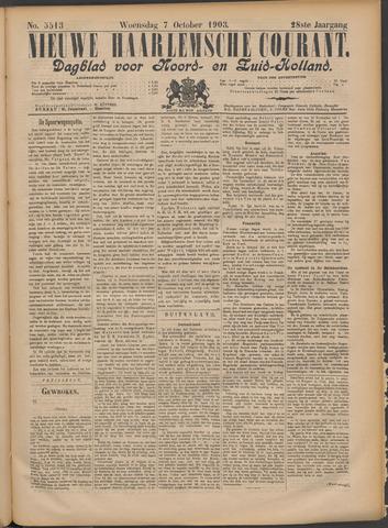 Nieuwe Haarlemsche Courant 1903-10-07