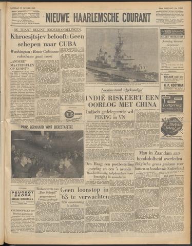 Nieuwe Haarlemsche Courant 1962-10-27