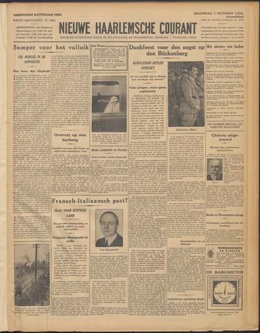 Nieuwe Haarlemsche Courant 1934-10-01