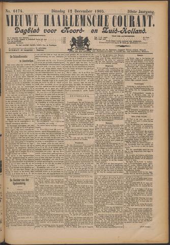 Nieuwe Haarlemsche Courant 1905-12-12