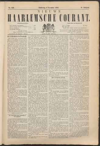 Nieuwe Haarlemsche Courant 1884-11-06