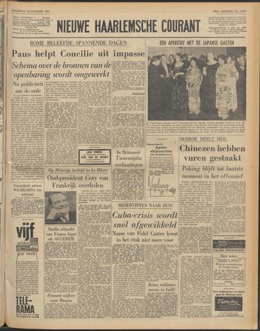 Nieuwe Haarlemsche Courant 1962-11-22