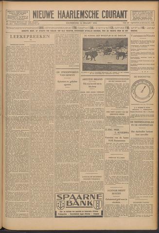 Nieuwe Haarlemsche Courant 1932-03-12