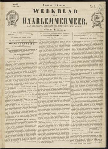 Weekblad van Haarlemmermeer 1869-01-01