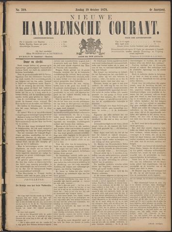 Nieuwe Haarlemsche Courant 1879-10-19