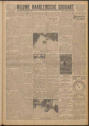 Nieuwe Haarlemsche Courant 1925-11-30