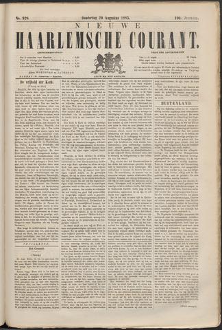 Nieuwe Haarlemsche Courant 1885-08-20