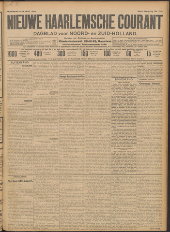 Nieuwe Haarlemsche Courant 1910-03-14