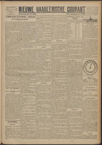 Nieuwe Haarlemsche Courant 1923-07-19