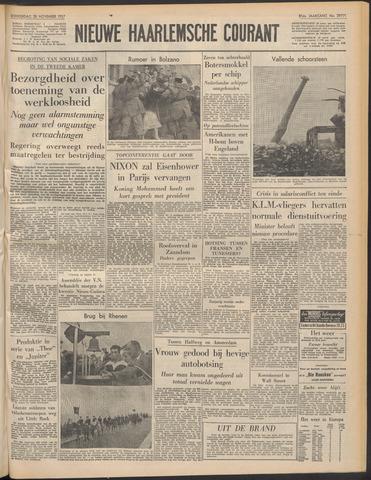 Nieuwe Haarlemsche Courant 1957-11-28