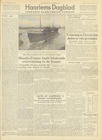 Haarlem's Dagblad 1954-10-13