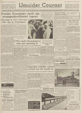 IJmuider Courant 1959-09-18