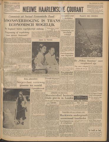 Nieuwe Haarlemsche Courant 1954-08-26